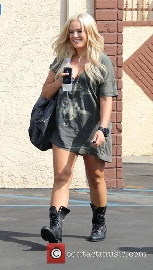 Lacey Schwimmer 'Dancing with the Stars' celebrities outside the dance rehearsal studios. Los Angeles, California - 28.09.11