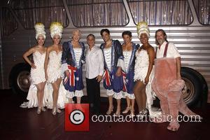 Tony Danza, Anastacia, David Johnson and Nick Adams