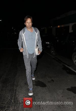 David Duchovny leaving Nobu Los Angeles, California - 23.07.11