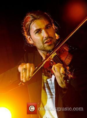 German Classical & Rock virtuoso violinist David Garrett performing at a private function at Chateau Napoule. Cote d'Azur, France -...