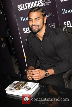 David Haye attends the book signing for 'Making Haye' at Selfridges  London, England - 02.11.11,