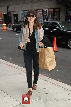 Leslie Feist  'The Late Show With David Letterman' at the Ed Sullivan Theater - Arrivals New York City, USA...