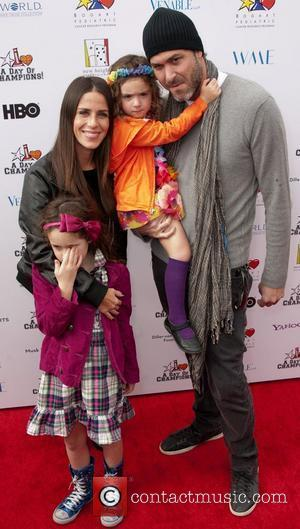 Soleil Moon Frye and Daughters Poet and Jagger, Husband Jason  Yahoo! Sports presents A Day Of Champions at the...