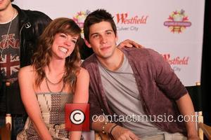 Molly Burnett and Casey Deidrick