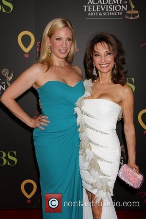 Liza Huber, Susan Lucci Daytime Emmy Awards at the Hilton Hotel and Casino - Red Carpet  Las Vegas, Nevada...