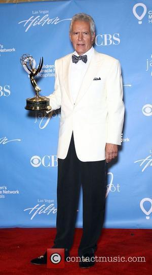 Alex Trebek Daytime Emmy Awards Press Room at Hilton Hotel and Casino  Las Vegas, Nevada - 19.06.11