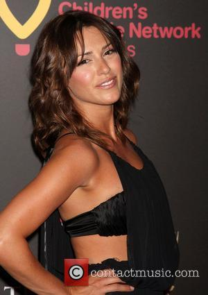 Elizabeth Hendrickson  ,  arriving at the Daytime Emmy Awards at the Hilton Hotel and Casino - Red Carpet....