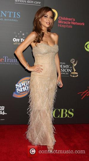Lisa LoCicero  ,  arriving at the Daytime Emmy Awards at the Hilton Hotel and Casino - Red Carpet....