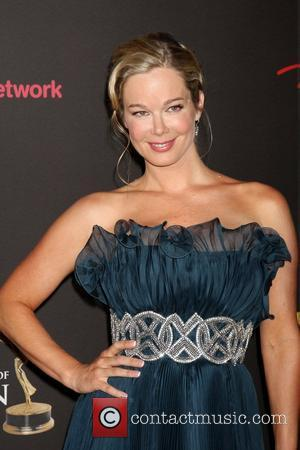 Jennifer Gareis  ,  arriving at the Daytime Emmy Awards at the Hilton Hotel and Casino - Red Carpet....