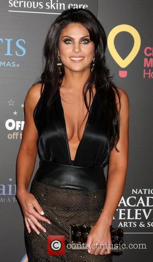 Nadia Bjorlin,  arriving at the Daytime Emmy Awards at the Hilton Hotel and Casino - Red Carpet. Las Vegas,...