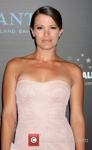 Melissa Claire Egan  ,  arriving at the Daytime Emmy Awards at the Hilton Hotel and Casino - Red...