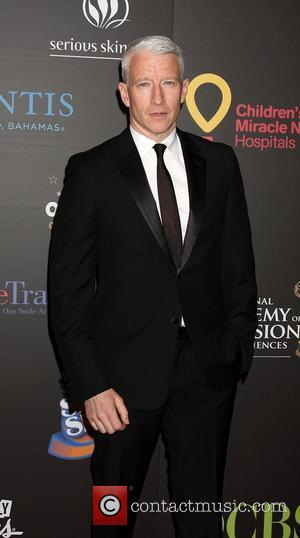 Anderson Cooper,  arriving at the Daytime Emmy Awards at the Hilton Hotel and Casino - Red Carpet. Las Vegas,...