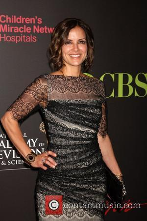 Rebecca Budig,  arriving at the Daytime Emmy Awards at the Hilton Hotel and Casino - Red Carpet. Las Vegas,...