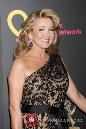 Melody Thomas Scott  ,  arriving at the Daytime Emmy Awards at the Hilton Hotel and Casino - Red...