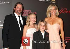 Laura Wright  ,  arriving at the Daytime Emmy Awards at the Hilton Hotel and Casino - Red Carpet....