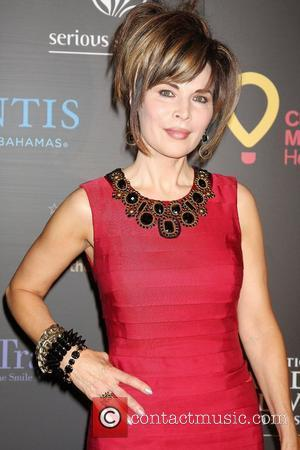 Lauren Koslow  ,  arriving at the Daytime Emmy Awards at the Hilton Hotel and Casino - Red Carpet....