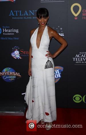 Denise Vasi Daytime Emmy Awards at the Hilton Hotel and Casino - Red Carpet Las Vegas, Nevada - 19.06.11