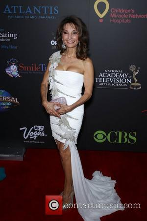 Susan Lucci Daytime Emmy Awards at the Hilton Hotel and Casino - Red Carpet Las Vegas, Nevada - 19.06.11
