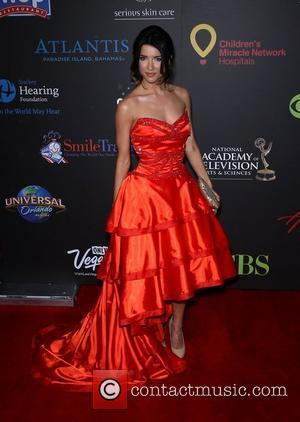 Jacqueline MacInnes Wood Daytime Emmy Awards at the Hilton Hotel and Casino - Red Carpet Las Vegas, Nevada - 19.06.11