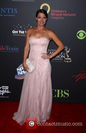 Melissa Claire Egan Daytime Emmy Awards at the Hilton Hotel and Casino - Red Carpet Las Vegas, Nevada - 19.06.11