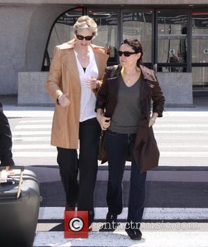 Jane Lynch and White House