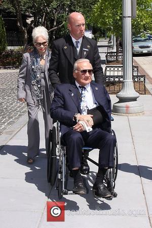 Buzz Aldrin Celebrities seen at their Hotel in Washington DC Washington DC, USA - 30.04.11