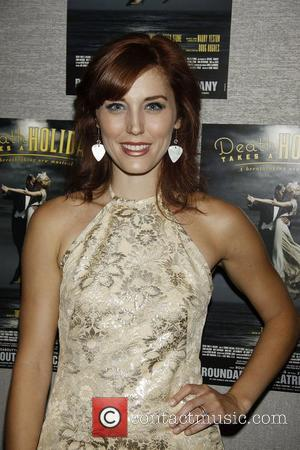 Mara Davi  Opening night of the Off-Broadway production of 'Death Takes A Holiday' at Roundabout Theatre Company's Laura Pels...
