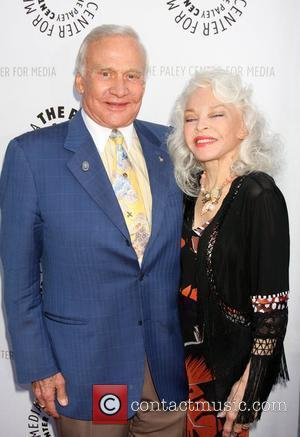 Buzz Aldrin, Lois Aldrin  The Debbie Reynolds Hollywood Memorabilia Collection Auction Preview at Paley Center - Arrivals Los Angeles,...