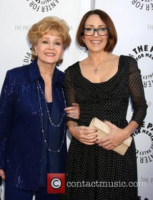 Debbie Reynolds and Patricia Heaton