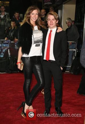 Margo Stilley and guest 'Demons Never Die' UK film premiere held at the Odeon West End - Arrivals London, England...