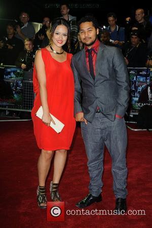 Nathalie Emmanuel and Devon Anderson UK film premiere of 'Demons Never Die' held at the Odeon West End - Arrivals...