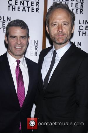 Andy Cohen and John Benjamin Hickey  Opening night after party for the Lincoln Center production of 'Other Desert Cities'...