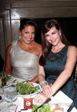 Sara Ramirez and Sara Rue