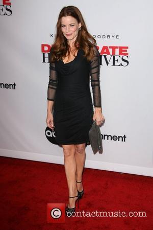 Laura Leighton  'Desperate Housewives' Final Season Kick-Off Party held at Wisteria Lane in Universal Studios Los Angeles, California -...