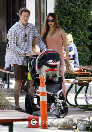 Devon Aoki out with her baby and fiance James Bailey Los Angeles, California - 03.07.11