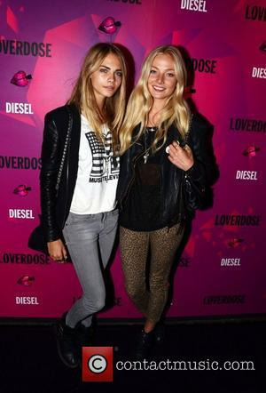 Clara Paget  Celebrities attend Diesel's new 'Loverdose' fragrance launch party held at The Box London, England - 07.09.11