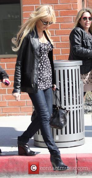 Dina Lohan shopping with friends in Beverly Hills Beverly Hills, California - 22.02.11