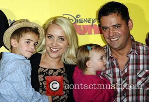 Ex Steps singer Claire Richards at the Disney Junior launch party held at the Museum of Childhood. Disney Junior is...