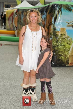 Charlie Brooks Daughter: So Close To Mummy Yet So Far On I'm A Celebrity Get Me Out Of Here