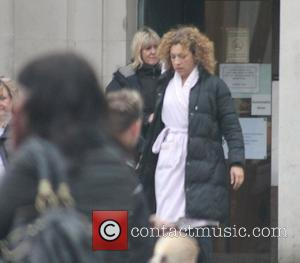 Alex Kingston on the set of the BBC sci-fi series Doctor Who filming on location at Temple of Peace in...
