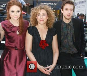 Karen Gillan, Alex Kingston and Arthur Darvill 'Doctor Who' screening held at the Village East Cinema New York City, USA...