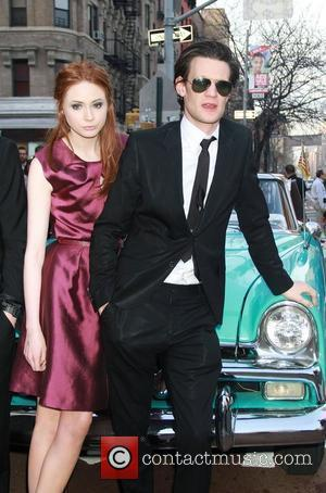 Karen Gillan and Matt Smith 'Doctor Who' screening held at the Village East Cinema New York City, USA - 11.04.11
