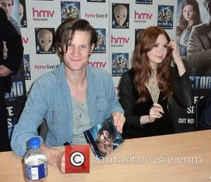 Doctor Who, Matt Smith, Karen Gillan