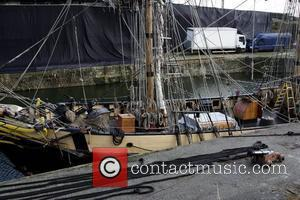 General views of 'The Doctor Who' set on a pirate ship in Charlestown Charlestown, Cornwall - 01.02.11