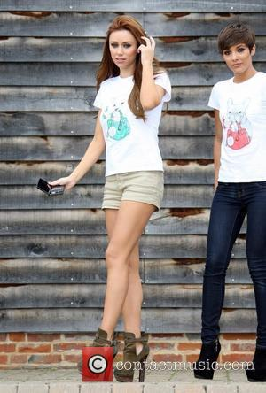 Una Healy and Frankie Sandford Nintendo and The Dogs Trust launch Nintendogs game Uxbridge, England - 30.08.11