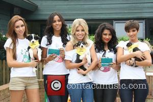 Una Healy, Frankie Sandford, Mollie King, Rochelle Wiseman and Vanessa White