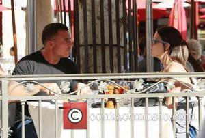 Dominic Purcell having lunch with his girlfriend at The Grove Los Angeles, California, USA - 08.02.11
