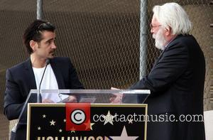 Colin Farrell and Donald Sutherland
