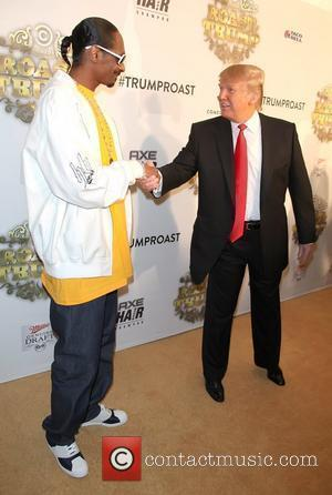 Snoop Dogg and Donald Trump Comedy Central presents 'Roast of Donald Trump' held at Manhattan Center Grand Ballroom - Arrivals...