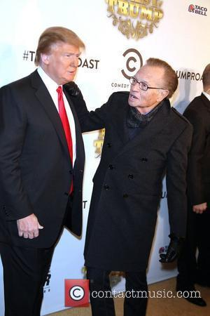 Donald Trump and Larry King
